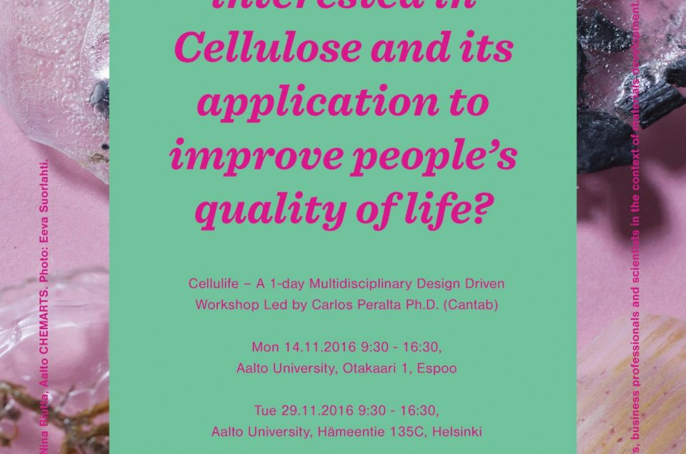 Cellulife Workshops