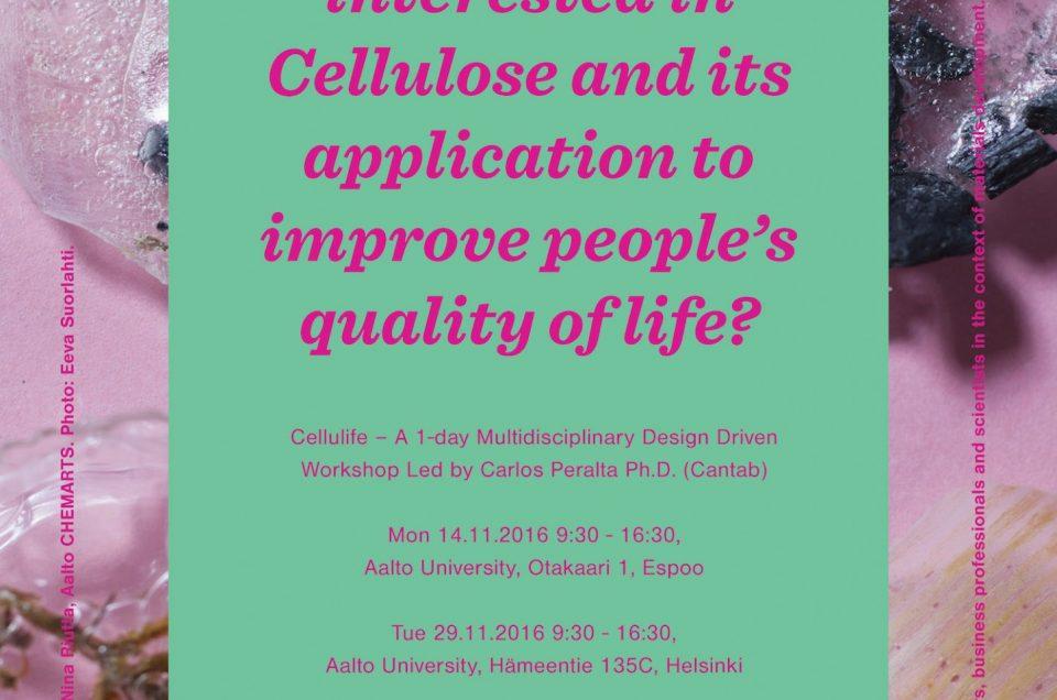 Cellulife Workshops