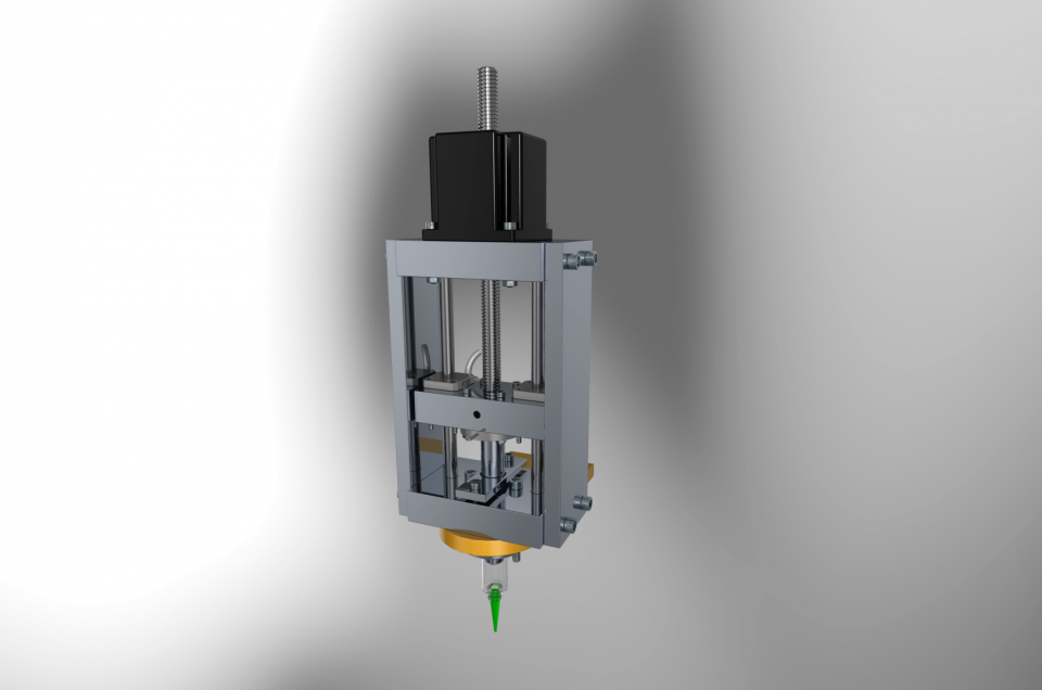 Extruder for 3D-printing Cellulose based Materials